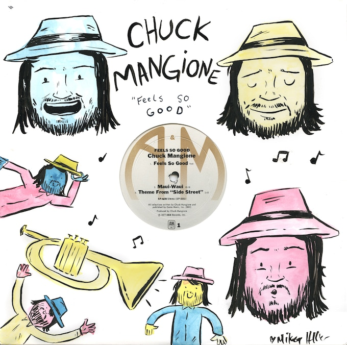 Chuck Mangione by Mikey Heller