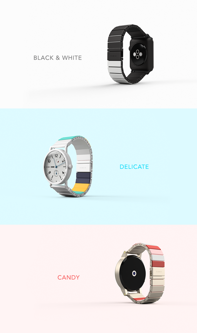 Remod Rainbow Coming back soon! Ready to build your very own watchband!