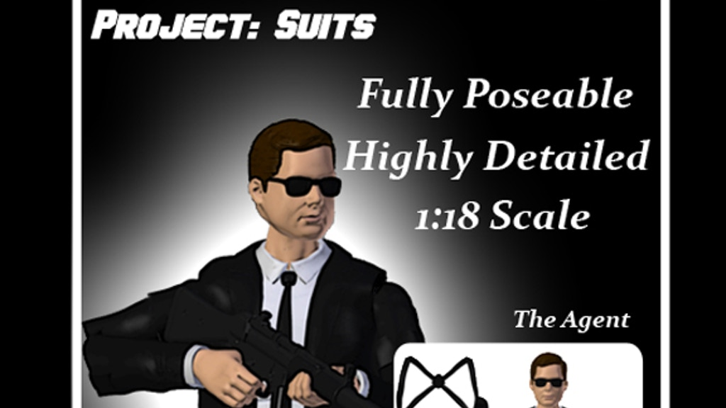 Project image for Legion XIV Project: Suits Action Figures
