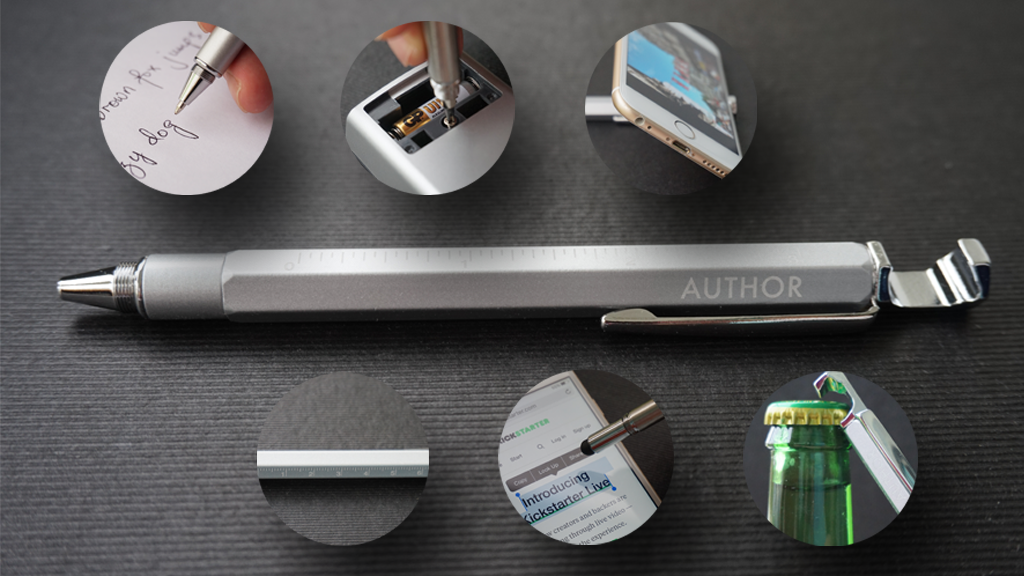 Author - The Multifunction Pen project video thumbnail
