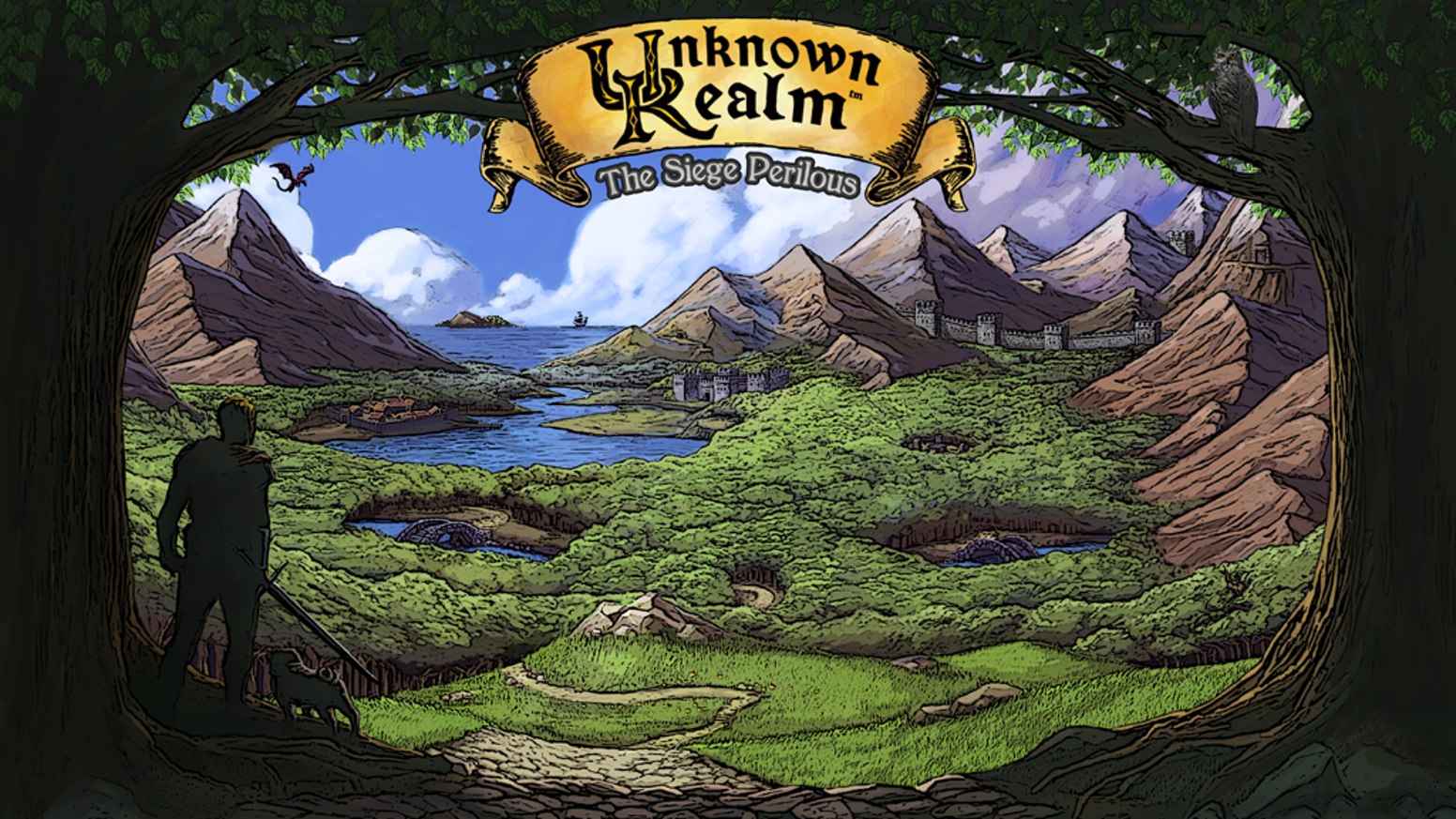 Unknown Realm: The Siege Perilous is a new 8-bit fantasy role-playing game for PC and C64 inspired by the classic RPGs of the 80's.