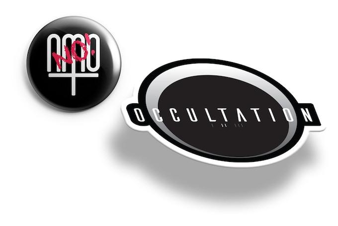 No NMO (New Moral Order) Pin   Occultation Pin