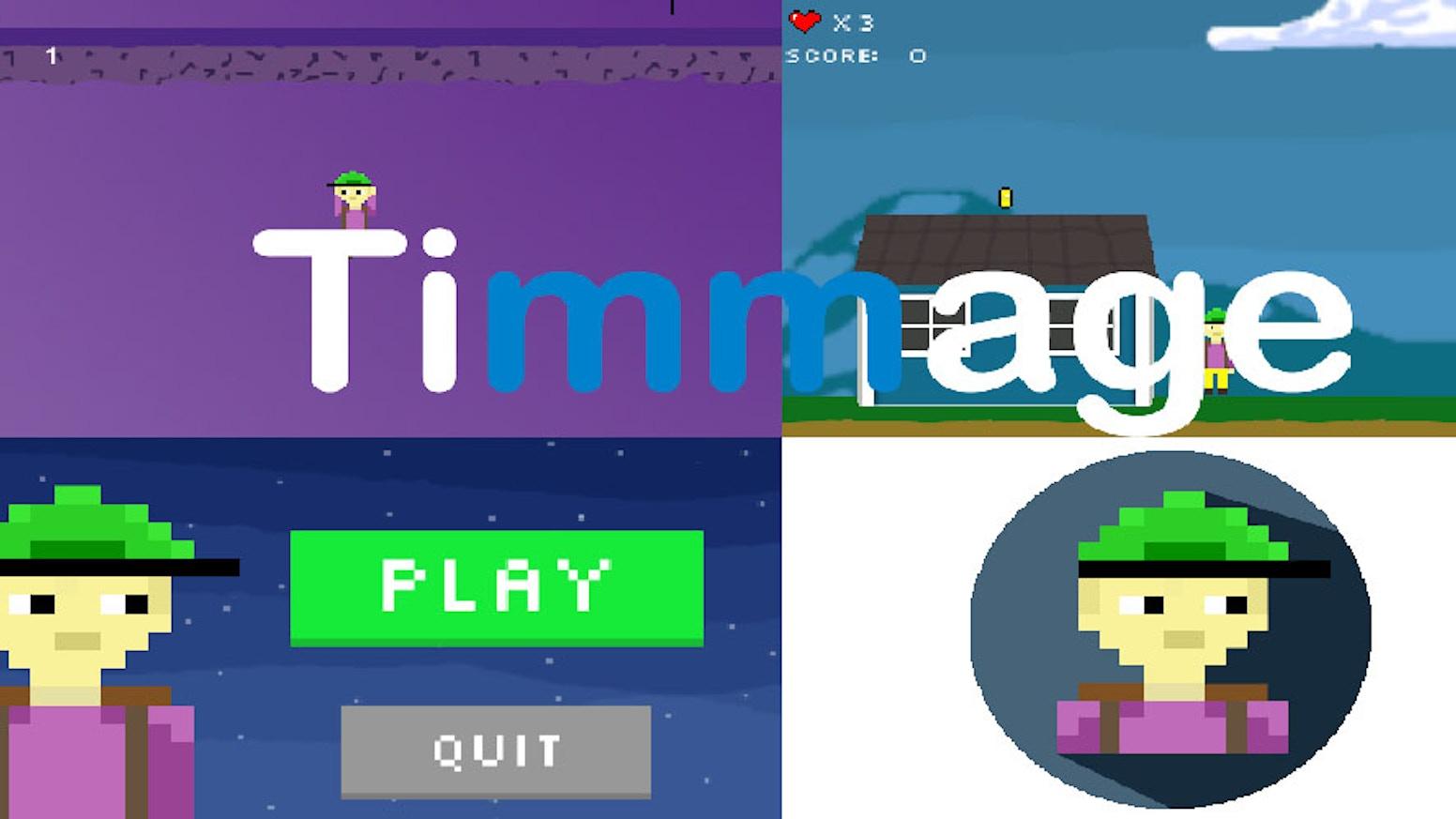 The 2D platformer Tim by Timmage co » FAQ — Kickstarter