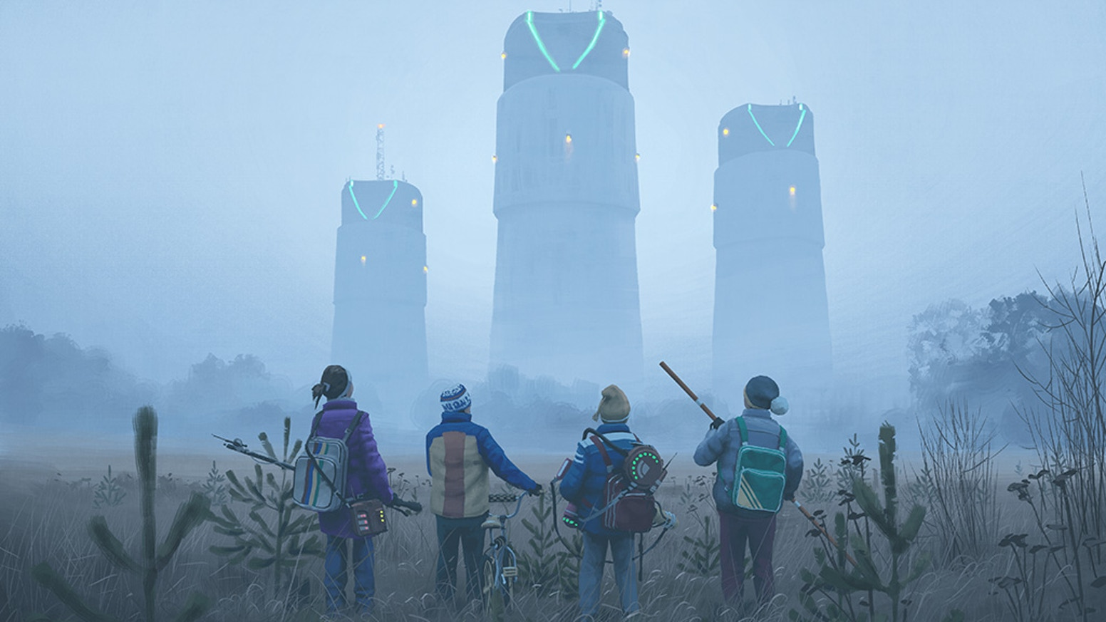Step into the alternate '80s universe created by scifi artist Simon Stålenhag in this retro RPG, in the vein of ET and Stranger Things.