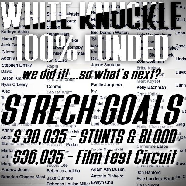 Check out the video below from our Writer/Director Xavier about our Stretch Goals