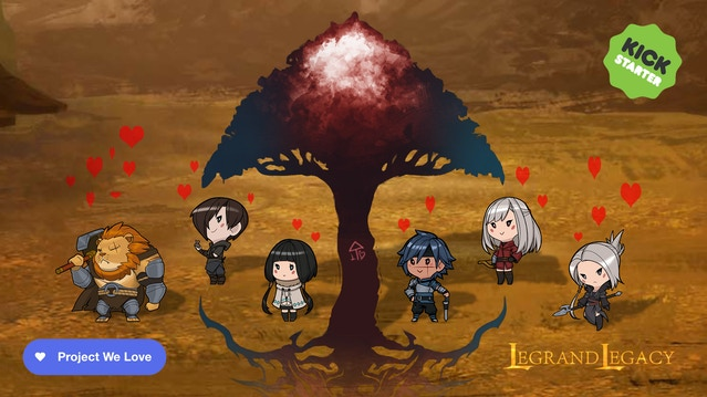Live 2D: Bringing Characters to Life news - Legrand Legacy
