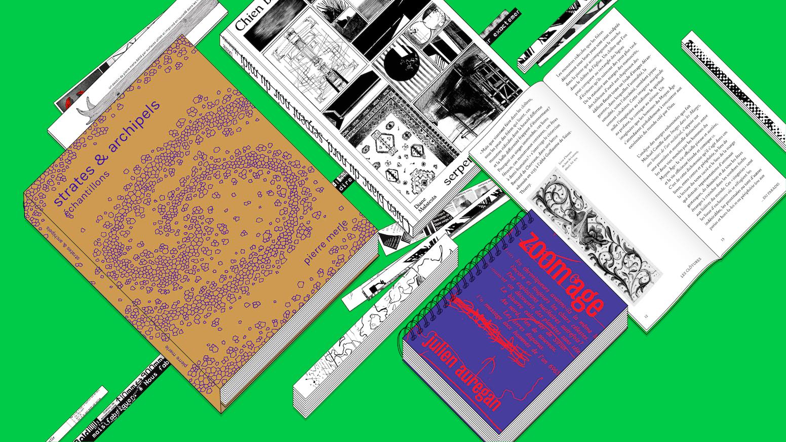 Surfaces Utiles est une maison d'édition avec jardin collectif qui cultive et promeut une hétérogénéité de pratiques artistiques, littéraires et (typo)graphique et techniques.