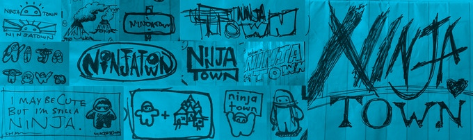 Sketches! Of Ninjatown things!