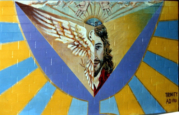 "The notoriety that was generated by the 1st ""Trinity"" mural, painted in 1981 at the age of 23, served me very well."
