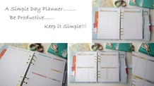 A Simple Day Planner