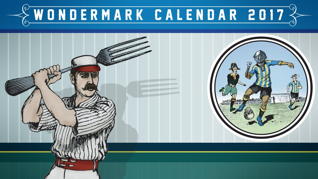 Absurd Sports League All-Stars! The 2017 Wondermark Calendar project video thumbnail