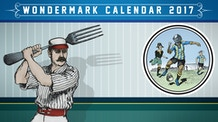 Absurd Sports League All-Stars! The 2017 Wondermark Calendar