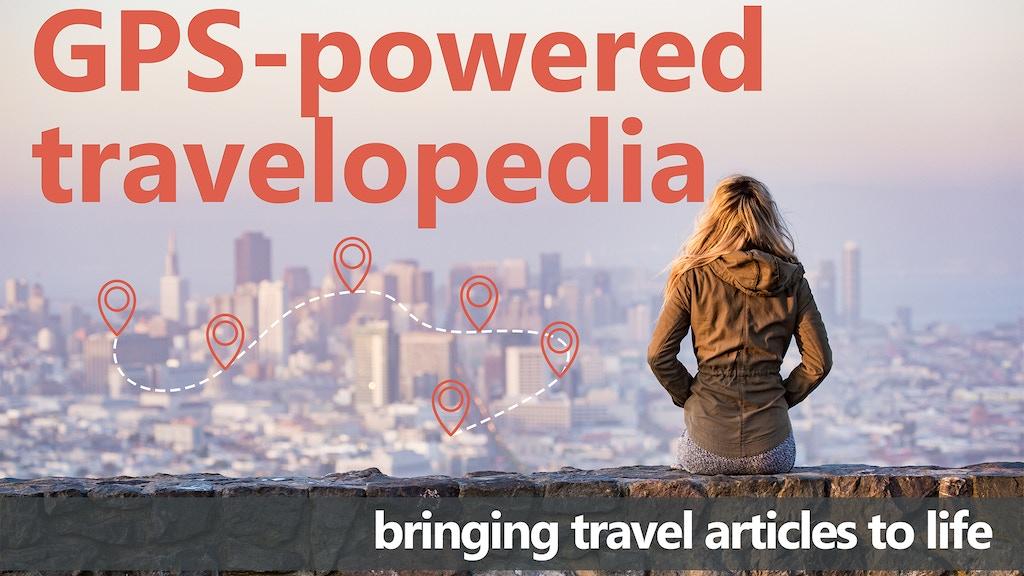 GPS-powered travelopedia project video thumbnail