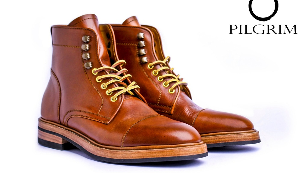 Pilgrim Boots : Handcrafted leather boots for any occasions project video thumbnail