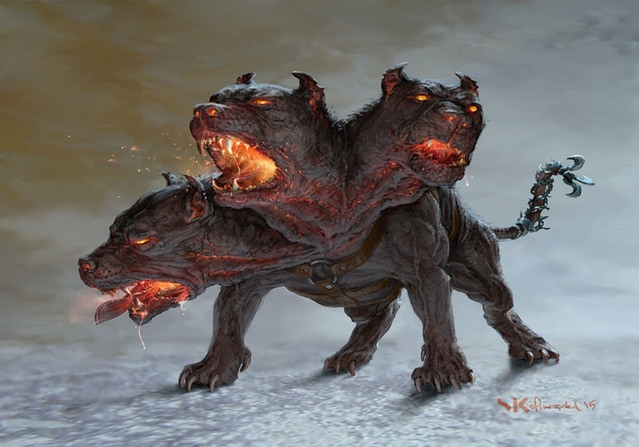 Cerberus : The Brazen-Voiced Hound of Hades [BG] 21fae7f756aabfc349ab0565dd9a4269_original