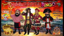 Pirate Captain Pappa Bingo Magical Fantasies