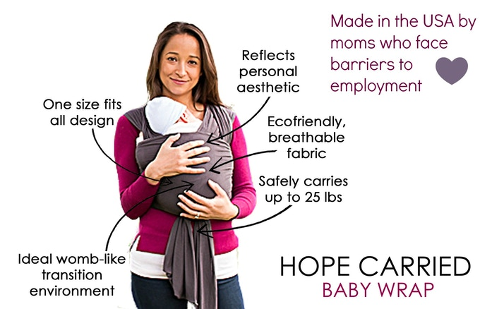 Hope Carried Baby Wraps Ring Slings That Empower By Brea Albulov