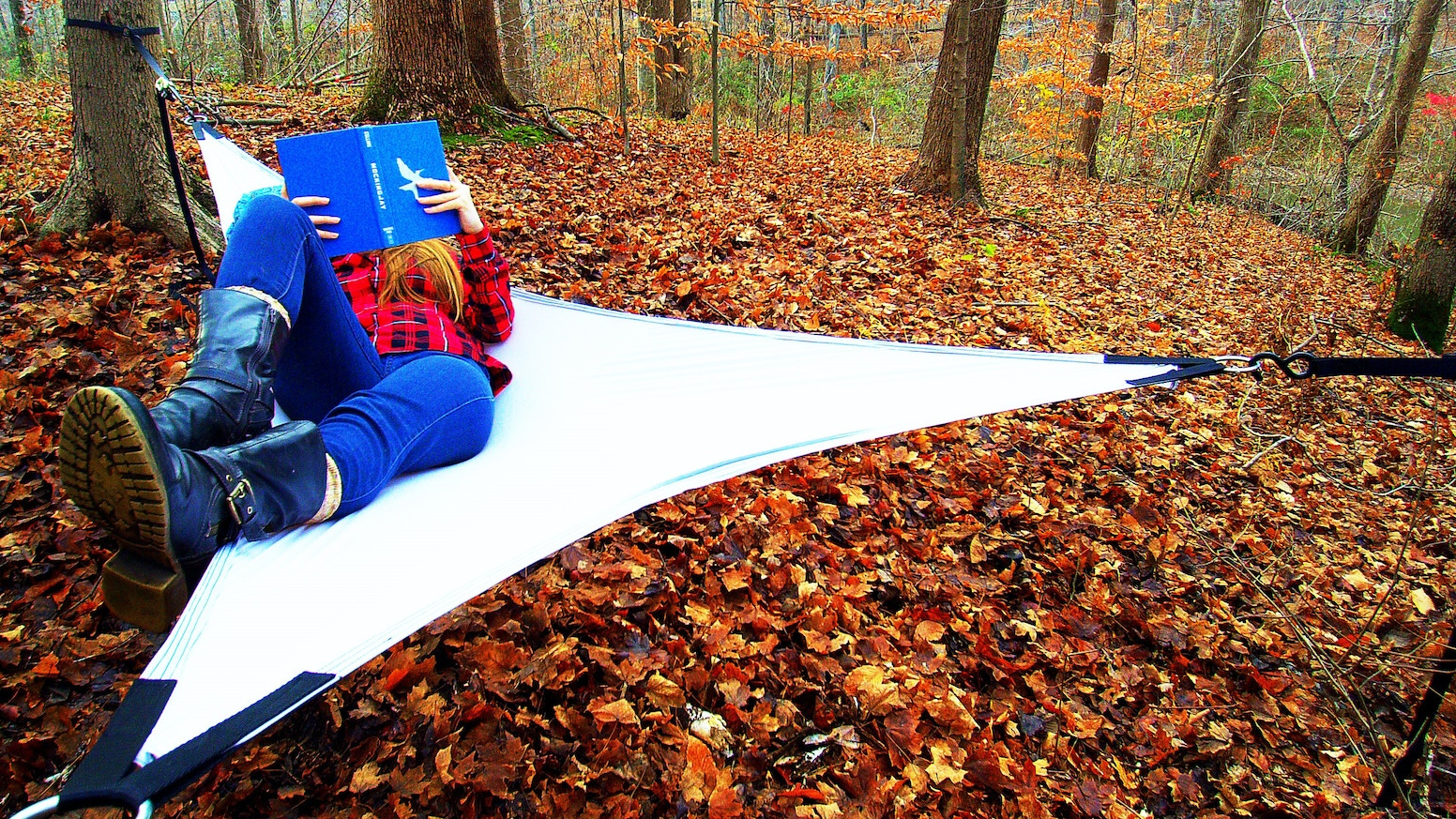 Lightweight, three-point stackable hammocks that will revolutionize the outdoor gear industry.