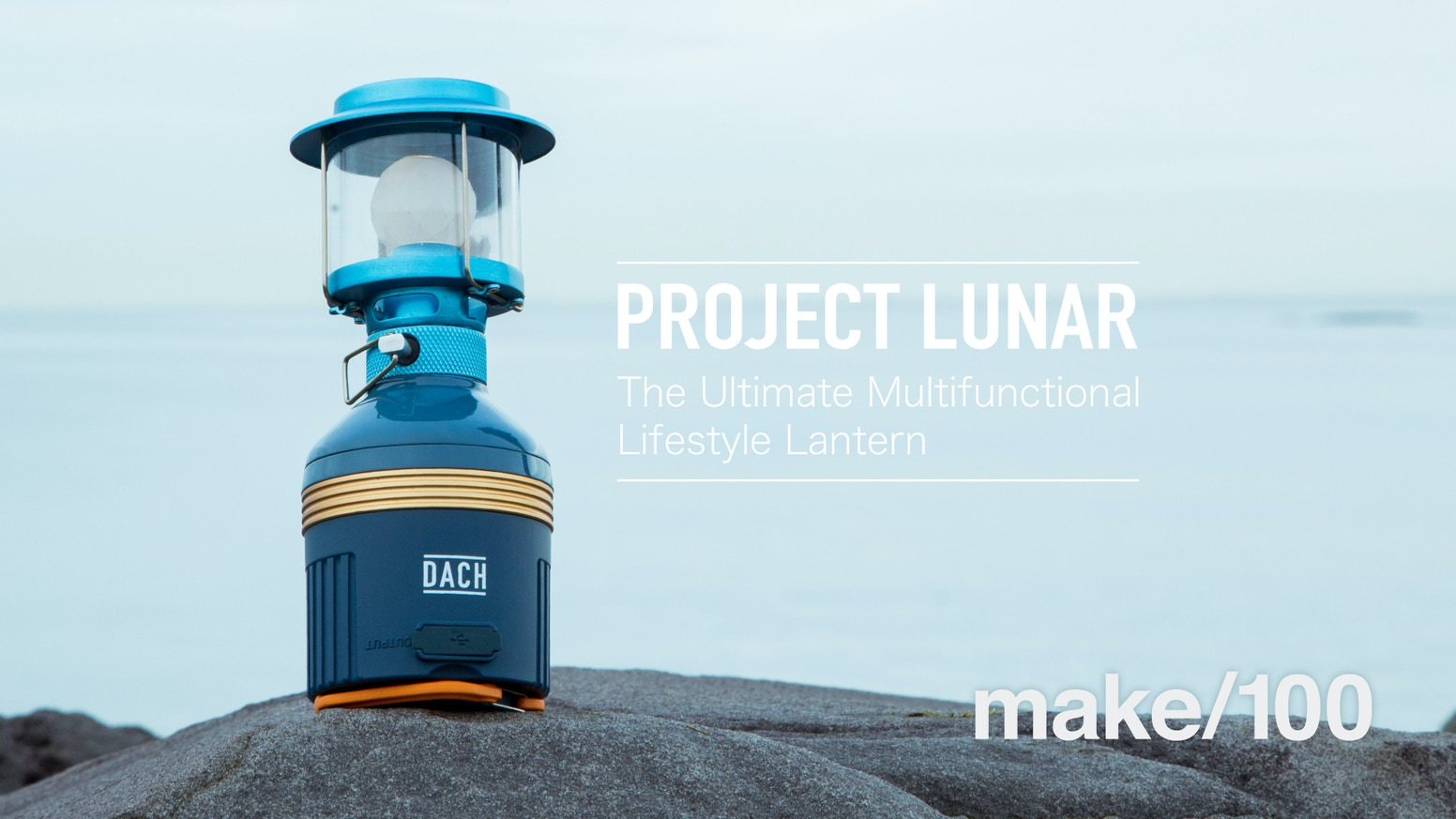 Project Lunarthe Ultimate Multifunctional Lifestyle Lantern By Dach
