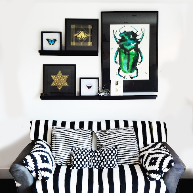 Original Beetle Painting, similar to the one in the pic above