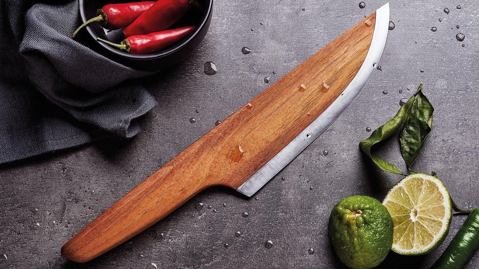 SKID - The First Wooden Chef Knife by LIGNUM — Kickstarter