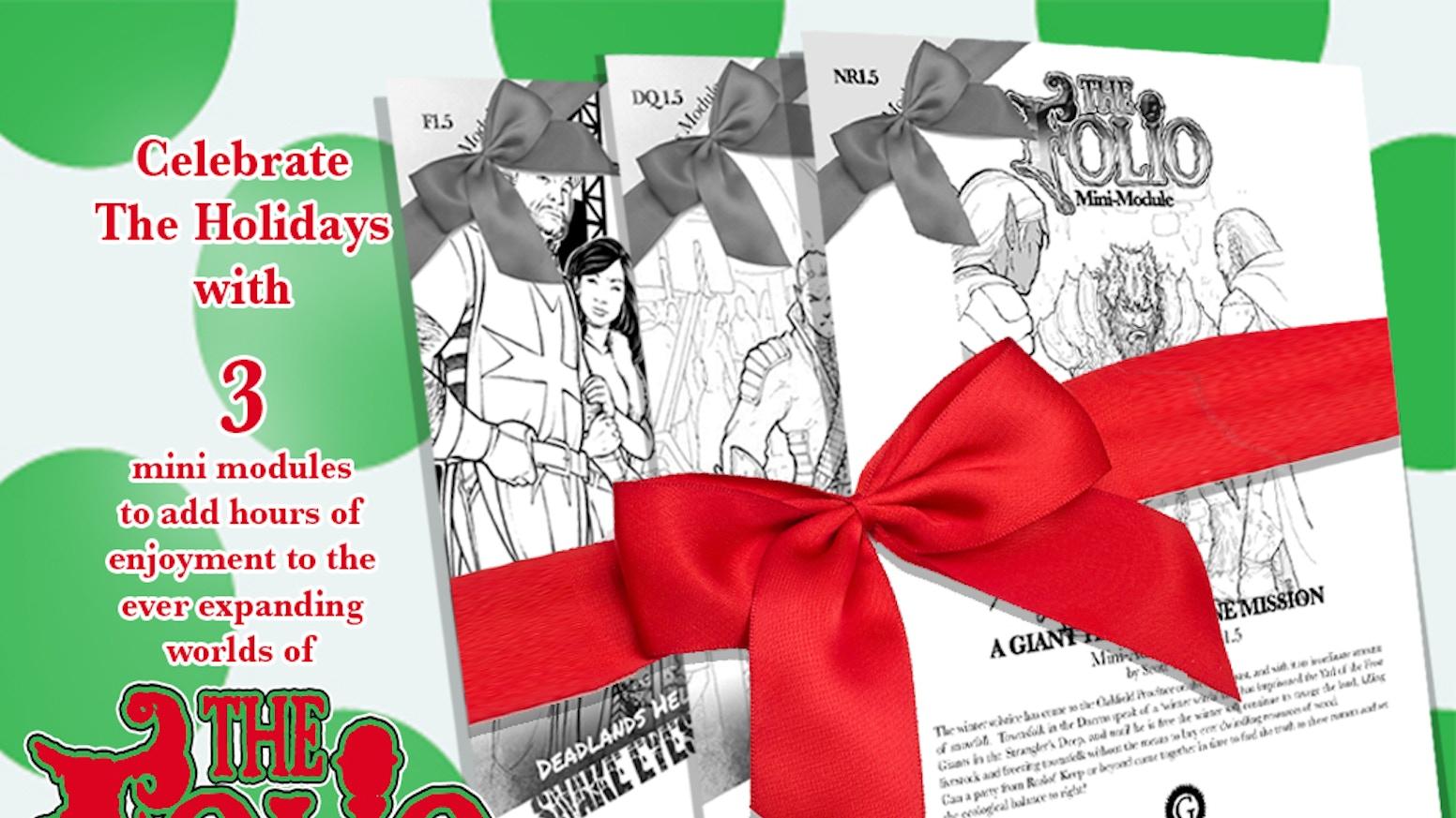 12 days of the folio christmas - Giant Christmas Hours