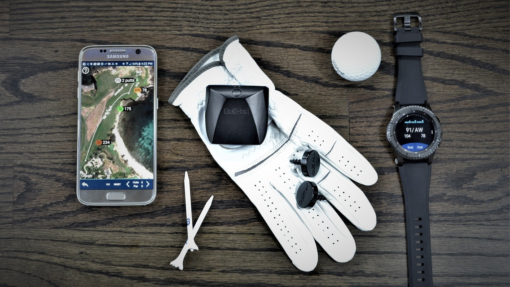 Golf Pad LINK - automatic golf game tracking DONE RIGHT project video thumbnail