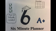 The Six Minute Planner