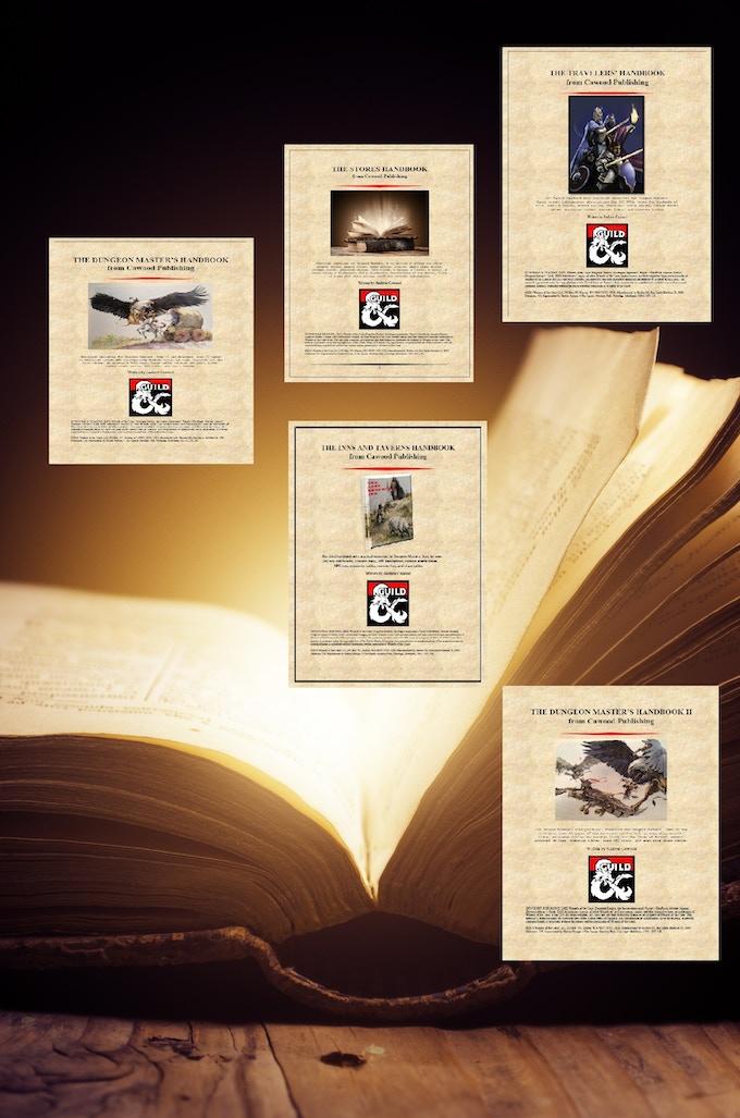 Cawood Publishing's DMs Guild handbooks