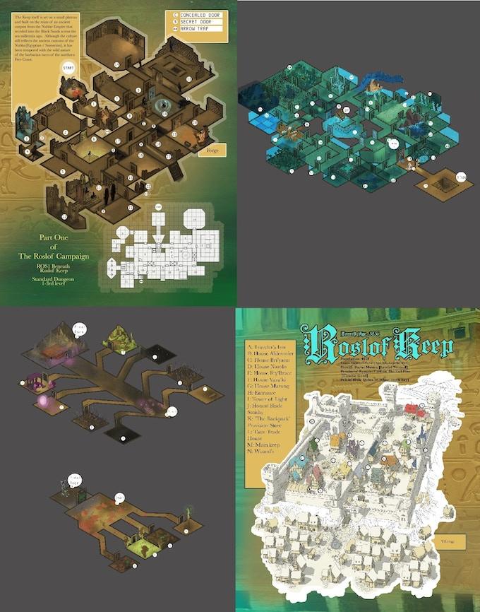 Sample 3D Maps