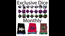 Exclusive Dice Monthly - Monthly Dice Service