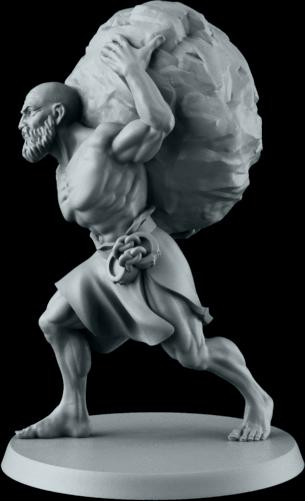 Sculpted by Irek Zielinski