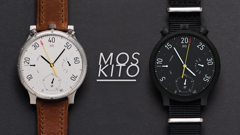 M O S KI T O – Swiss Analog Smart Watch & Bike Speedometer project video thumbnail