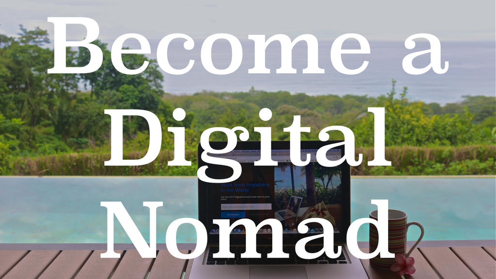 Become a Digital Nomad - Build Websites and Work Remotely project video thumbnail