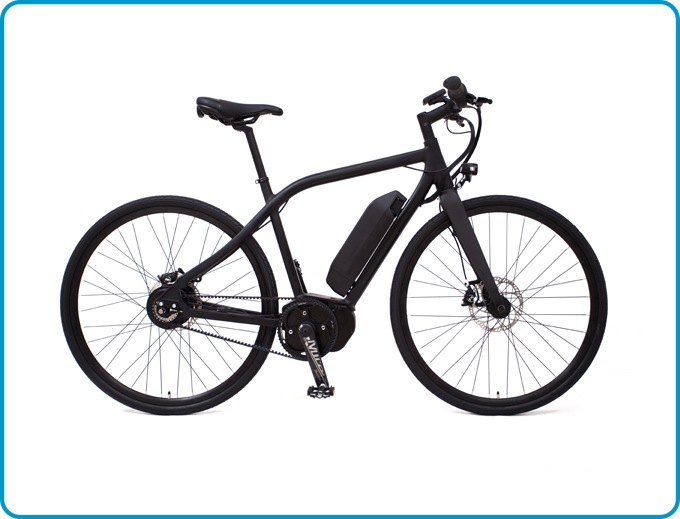VIT-S (with carbon fibre Baramind BAM MTB and Miranda e-Bike Carbon Crank)