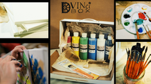 DVINci Box is an art class and supplies shipped to you.