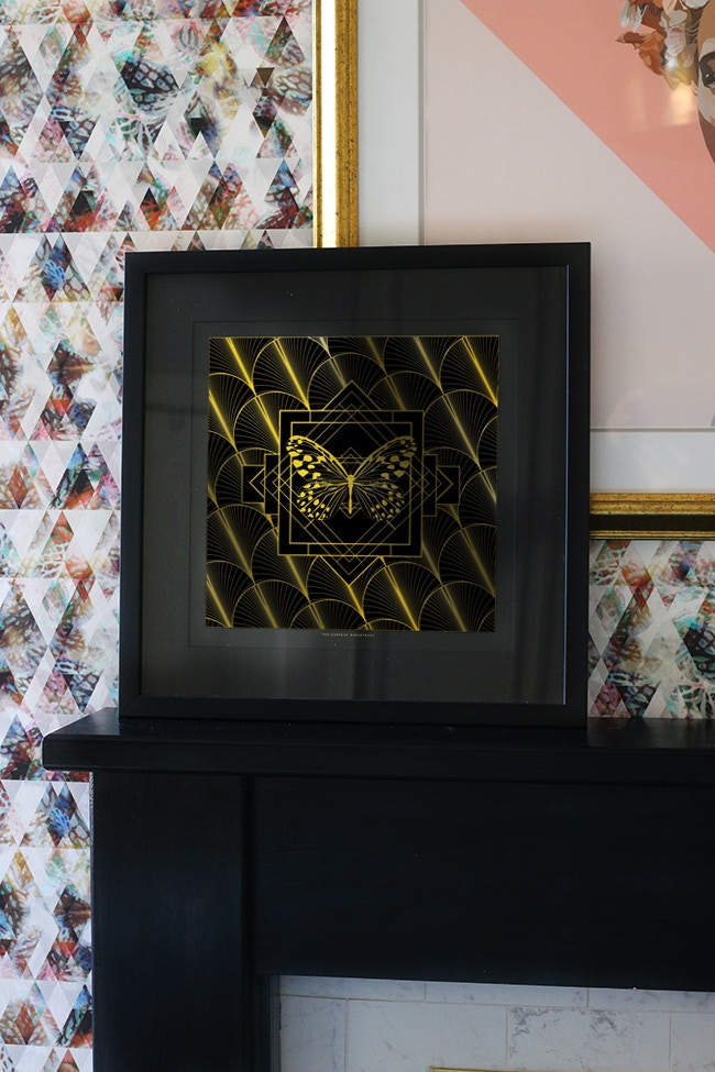 SWOON WORTHY: Ltd Edition Butterfly Print (does not come framed)
