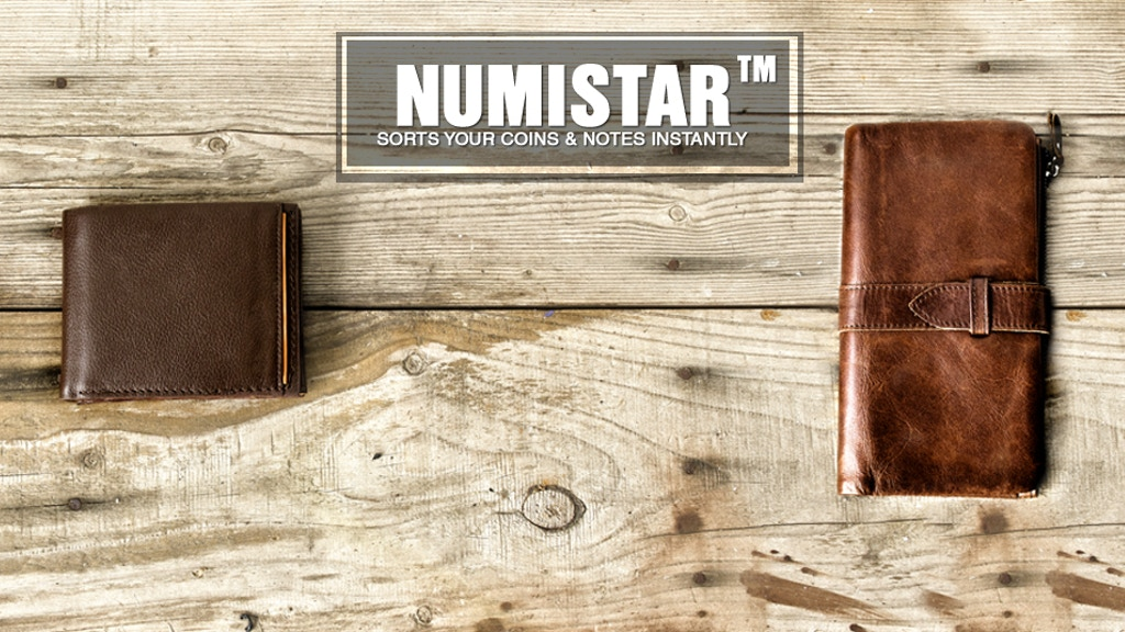 Numistar - Wallets that sort your coins & notes instantly. project video thumbnail