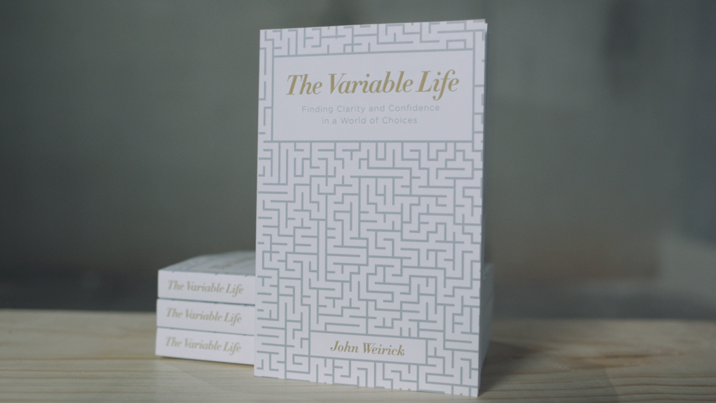 The Variable Life - a book about building a meaningful life project video thumbnail