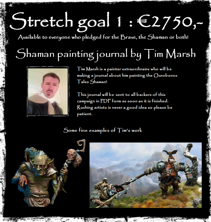 our first stretch goal!