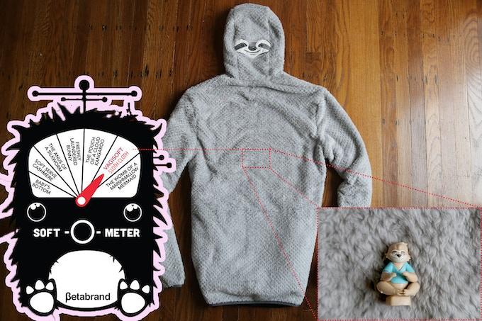 ZipSloth hoodie BACK