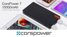 CorsPower 7: World's First 256GB Wireless Charger