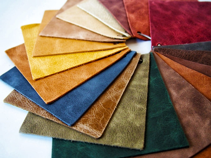 unlock different leather options