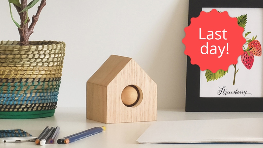 Cue: Your smart cuckoo clock to build good habits project video thumbnail