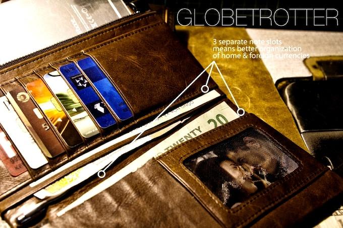 Globetrotter multiple note slots