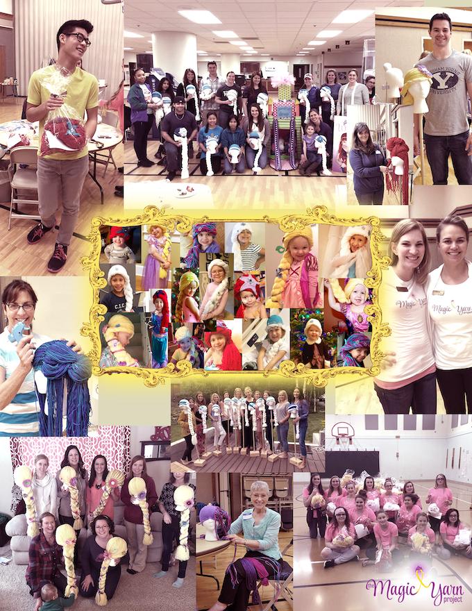 Volunteers and Princesses