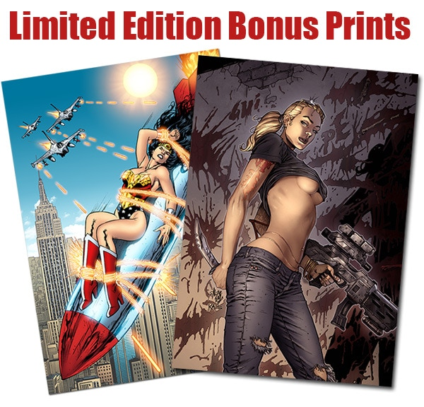 Limited Edition Bonus Prints - Printed to Order - Never to be offered as prints again.