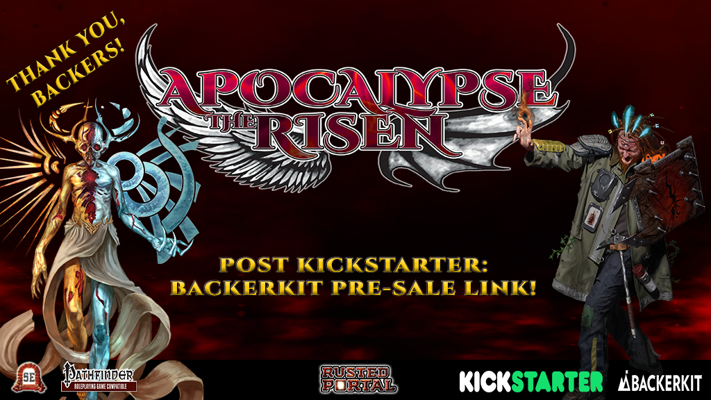 Apocalypse the Risen RPG (5E / 5th Edition & Pathfinder) project video thumbnail