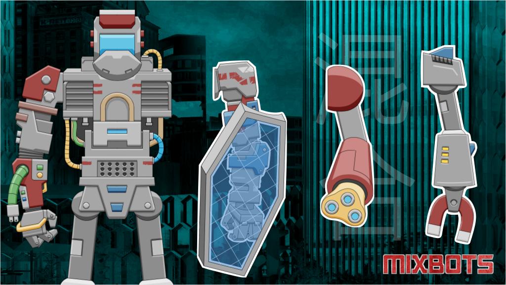 Projektbild für Mixbots - Collect Parts. Build Robots. Battle Friends.