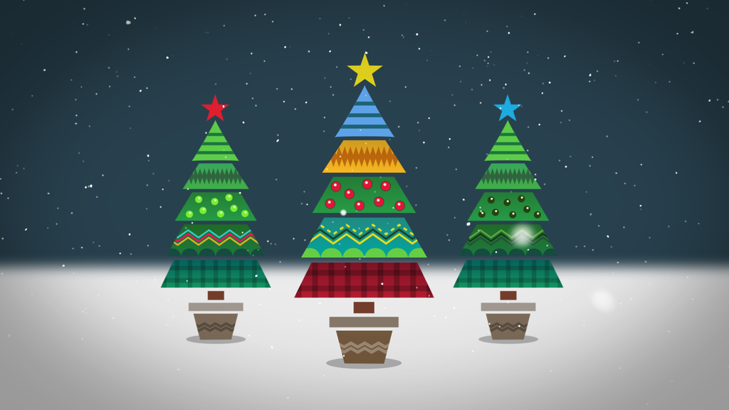 Animated Christmas Cards project video thumbnail